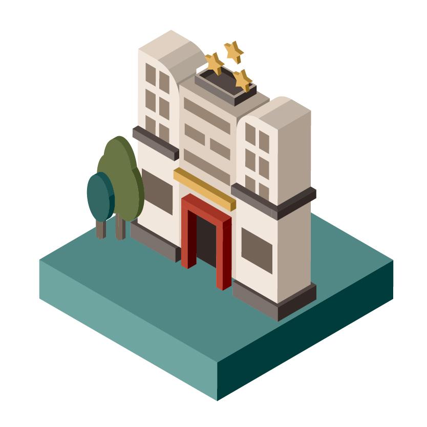 シティホテルの画像