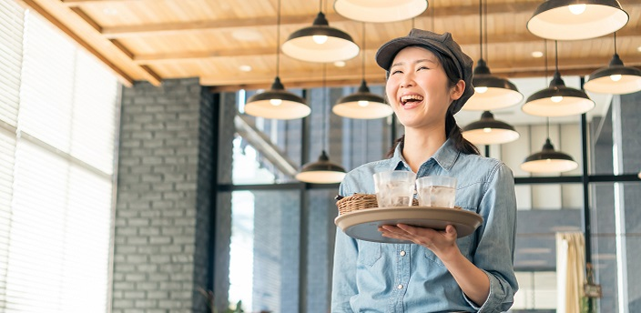 飲食店向け自己PRの書き方!就活でアルバイト経験をアピールする方法のイメージ